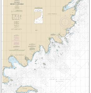 16568 - Wide Bay to Cape Kumlik, Alaska Pen.