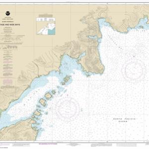 16570 - Portage and Wide Bays, Alaska Pen.