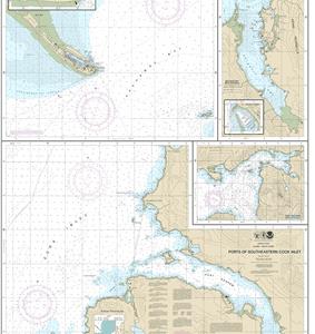 16646 - Ports of Southeastern Cook Inlet Port Chatham; Port Graham; Seldovia Bay; Seldovia Harbor; Approaches to Homer Harbor; Homer