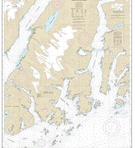 16712 - Unakwik Inlet to Esther Passage and College Fiord