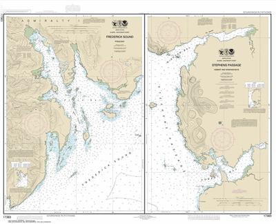 17363 - Pybus Bay, Frederick Sound; Hobart and Windham Bays, Stephens Passage