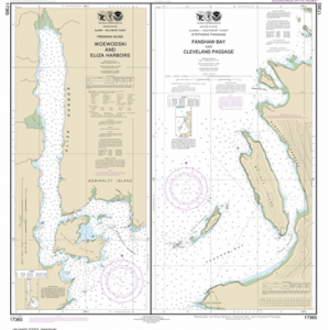 17365 - Woewodski and Eliza Harbors; Fanshaw Bay and Cleveland Passage