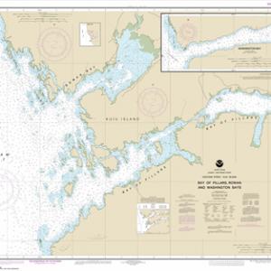 17370 - Bay of Pillars and Rowan Bay, Chatham Strait; Washington Bay, Chatham Strait