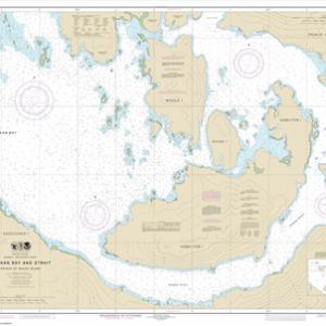 17379 - Shakan Bay And Strait, Alaska