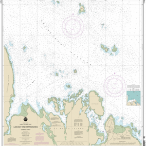 17401 - Lake Bay and approaches, Clarence Strait