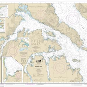 17426 - Kasaan Bay, Clarence Strait; Hollis Anchorage, eastern part; Lyman Anchorage