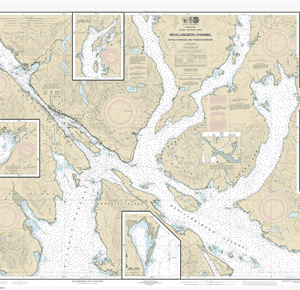 17428 - Revillagigedo Channel, Nichols Passage, and Tongass Narrows; Seal Cove; Ward Cove