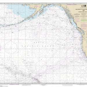 530 - North America West Coast San Diego to Aleutian Islands and Hawai'ian Islands