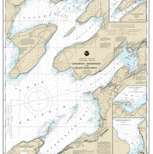 14811 - Chaumont, Henderson and Black River Bays; Sackets Harbor; Henderson Harbor; Chaumont Harbor