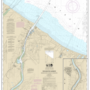 14815 - Rochester Harbor, including Genessee River to head of navigation