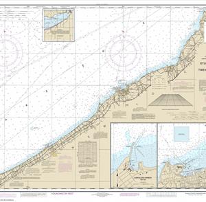 14823 - Sturgeon Point to Twentymile Creek; Dunkirk Harbor; Barcelona Harbor