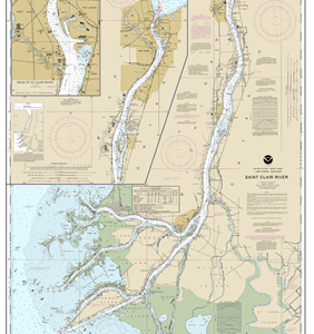 14852 - St. Clair River; Head of St. Clair River