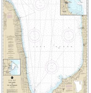 14862 - Port Huron to Pte aux Barques; Port Sanilac; Harbor Beach