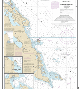 14869 - Thunder Bay Island to Presque Isle; Stoneport Harbor; Resque Isle Harbor