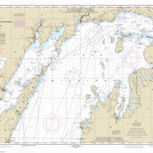 14902 - North end of Lake Michigan, including Green Bay