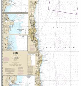 14904 - Port Washington to Waukegan; Kenosha; North Point Marina; Port Washington; Waukegan