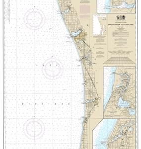 14906 - South Haven to Stony Lake; South Haven; Port Sheldon; Saugatuck Harbor