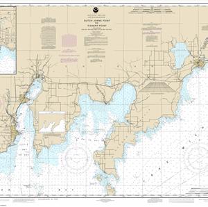 14908 - Dutch Johns Point to Fishery Point, including Big Bay de Noc and Little Bay de Noc; Manistique