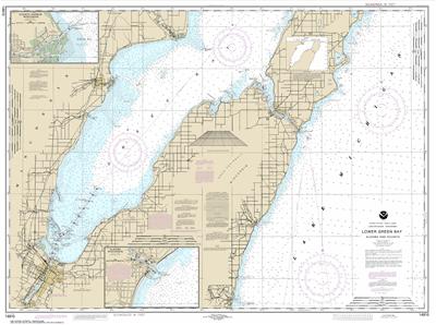 14910 - Lower Green Bay; Oconto Harbor; Algoma
