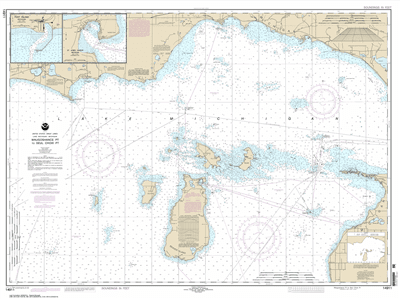 14911 - Waugoshance Point to Seul Choix Point, including Beaver Island Group; Port Inland; Beaver Harbor