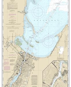 14918 - Head of Green Bay, including Fox River below De Pere; Green Bay