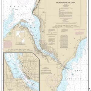 14919 - Sturgeon Bay and Canal; Sturgeon Bay