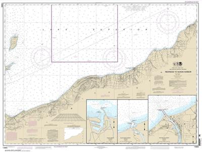 14965 - Redridge to Saxon Harbor; Ontonagon Harbor; Black River Harbor; Saxon Harbor