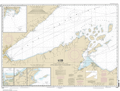 14966 - Little Girls Point to Silver Bay, including Duluth and Apostle Islands; Cornucopia Harbor; Port Wing Harbor; Knife River Harbor; Two Harbors