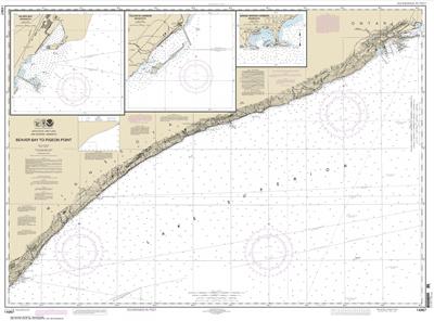 14967 - Beaver Bay to Pigeon Point; Silver Bay Harbor; Taconite Harbor; Grand Marais Harbor