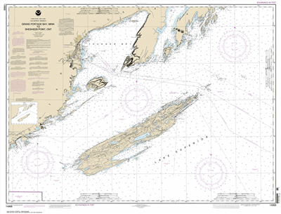 14968 - Grand Portage Bay, MN to Shesbeeb Point, ON