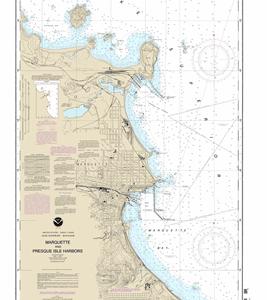14970 - Marquette and Presque Isle Harbors