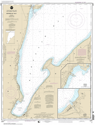 14971 - Keweenaw Bay; L'Anse and Baraga Harbors