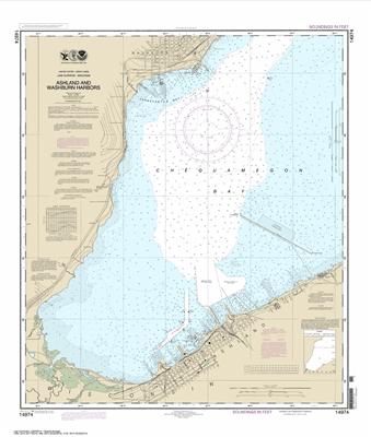 14974 - Ashland and Washburn Harbors