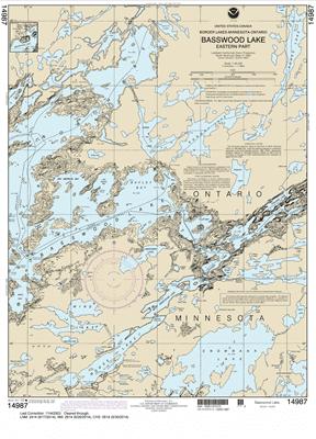 14987 - Basswood Lake, Eastern Part