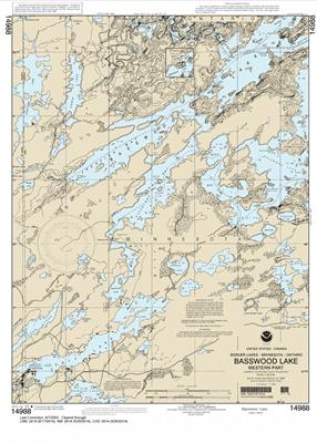 14988 - Basswood Lake, Western Part
