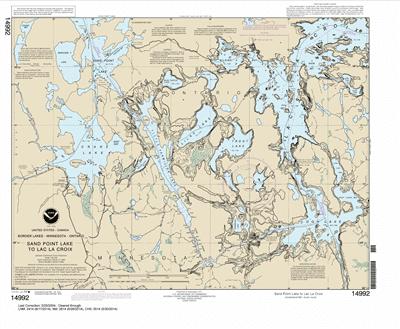 14992 - Sand Point Lake to Lac la Croix, including Crane Lake and Little Vermilon Lake