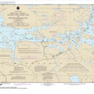 14994 - Namakan Lake, Western Part and Kabetogama Lake, Eastern Part