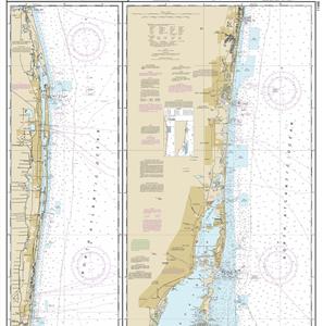 11466 - Jupiter Inlet to Fowey Rocks; Lake Worth Inlet