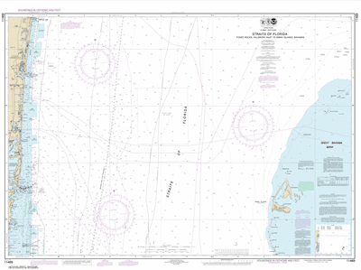 11469 - Straits of Florida Fowey Rocks, Hillsboro Inlet to Bimini Islands, Bahamas