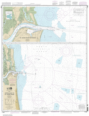 11490 - Approaches to St. Johns River; St. Johns River Entrance