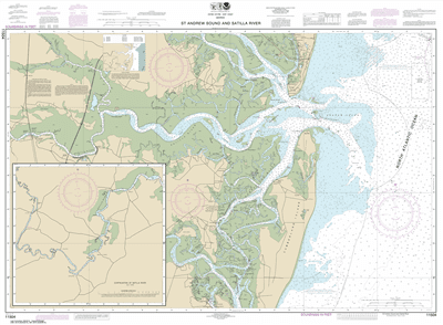 11504 - St. Andrew Sound and Satilla River