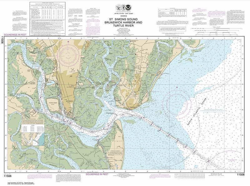 11506 - St. Simons Sound, Brunswick Harbor and Turtle River