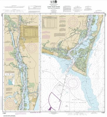 11537 - Cape Fear River Cape Fear to Wilmington