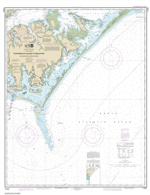 11544 - Portsmouth Island to Beaufort, Including Cape Lookout Shoals