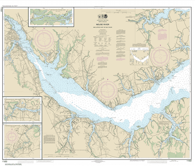 11552 - Neuse River and Upper Part of Bay River