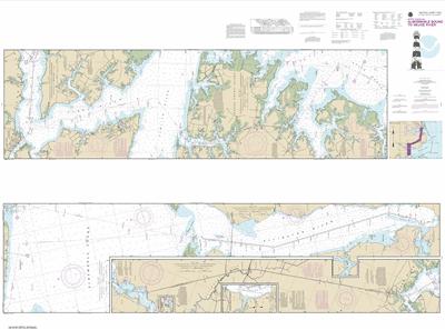 11553 - Intracoastal Waterway Albermarle Sound to Neuse River; Alligator River; Second Creek